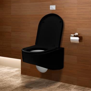 Wand-hänge WC/ Toilette Design+Spülkasten | vidaXL.de
