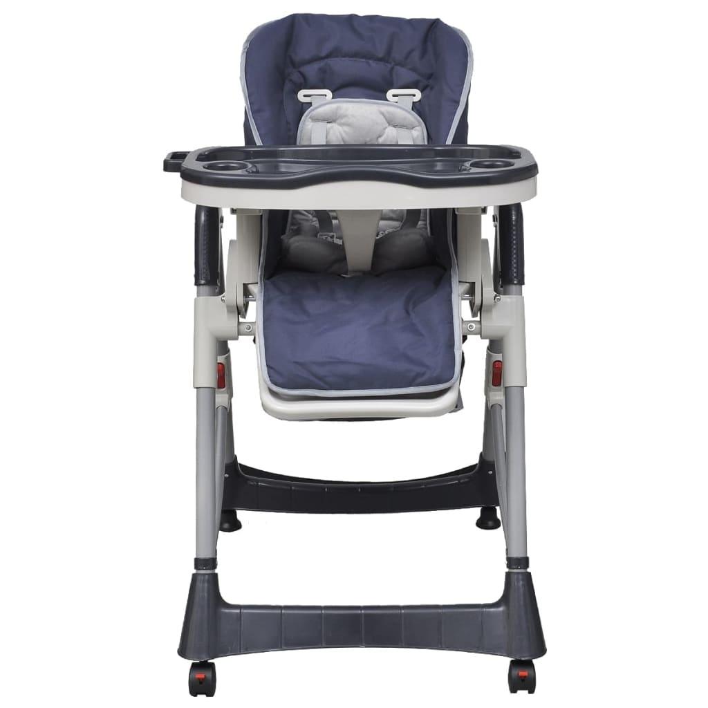 9910063 Babystuhl Kindersitz Hochstuhl Treppenhochstuhl Deluxe Dunkelblau