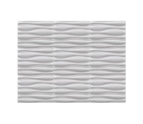 3D Sienų Plokštės, Banga, 0,625 m x 0,8 m, 12 Plokščių, 6 m²[6/9]