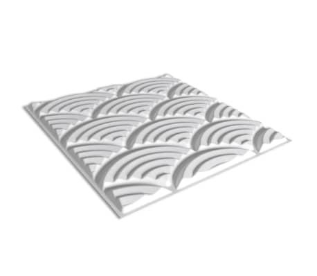 Väggpanel mönster bågar 50x50 cm, 24-pack 6m²[6/7]