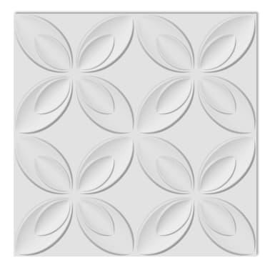 Panel mural 3D floreado 0,3 m x 0,3 m 66 Paneles 6 m²[2/8]