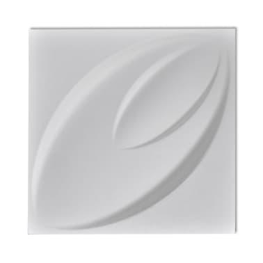 Panel mural 3D floreado 0,3 m x 0,3 m 66 Paneles 6 m²[6/8]