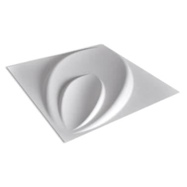 Panel mural 3D floreado 0,3 m x 0,3 m 66 Paneles 6 m²[7/8]