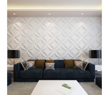 Panel mural 3D floreado 0,3 m x 0,3 m 66 Paneles 6 m²[1/8]