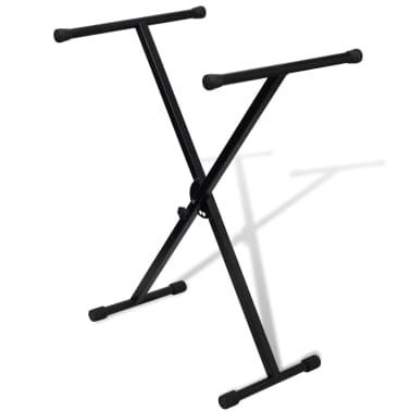 Adjustable Single Braced Keyboard Stand X-Frame[1/5]