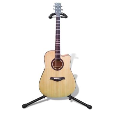 Verstelbare enkelvoudige gitaarstandaard[6/7]