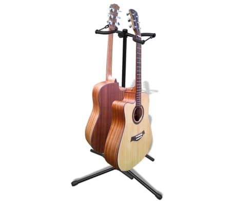 Stand de double guitare pliable[3/6]