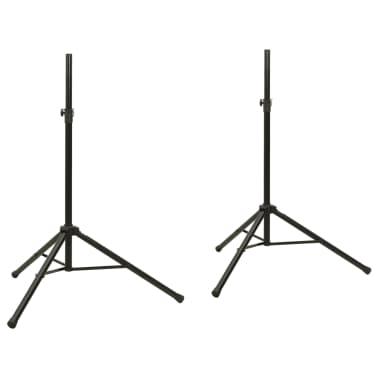 2x Lautsprecherständer Mikrofonstativ Stativ Ständer[1/7]