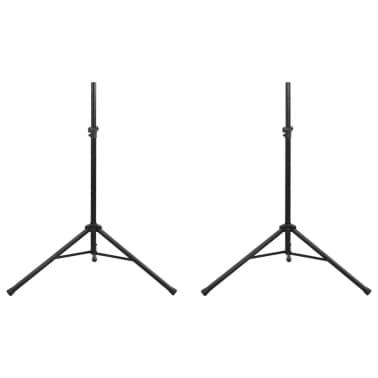 2x Lautsprecherständer Mikrofonstativ Stativ Ständer[2/7]