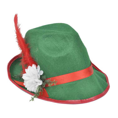 vidaXL Lederhosen met hoed voor Oktoberfest maat L[5/5]