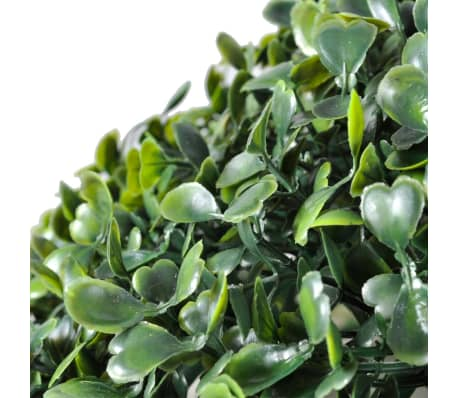 "Boxwood Ball Artificial Leaf Topiary Ball 10.6"" 2 pcs[3/3]"