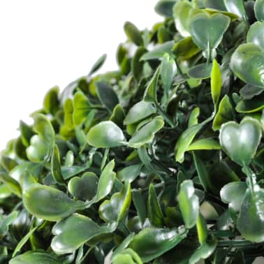"Boxwood Ball Artificial Leaf Topiary Ball 13.8"" 2 pcs[3/3]"