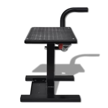 Professional Motorbike Lift Stand Black[2/5]