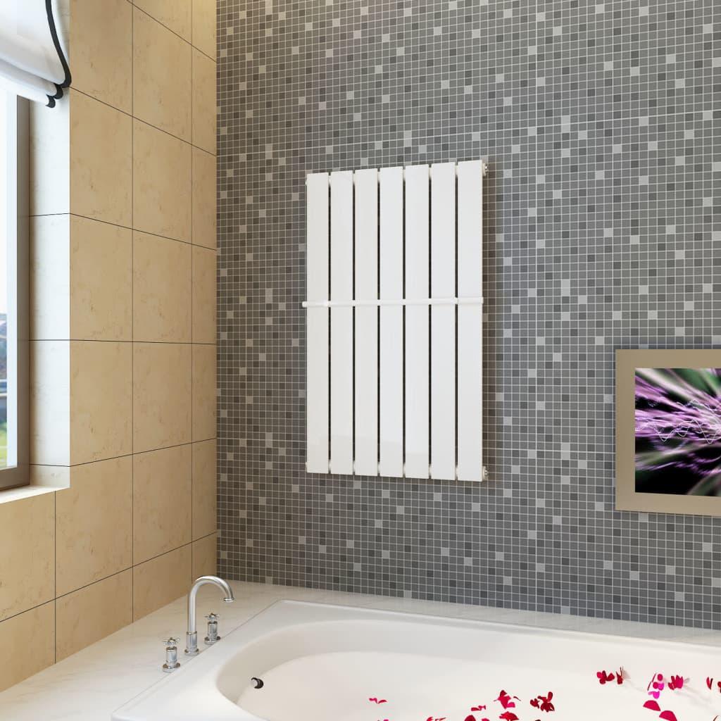 Věšák na ručníky 542 mm + lamelový radiátor bílý 542 x 900 mm