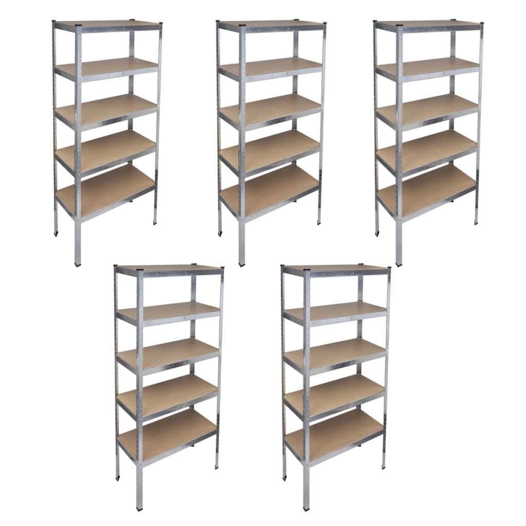 vidaxl-storage-rack-garage-shelf-5pcs