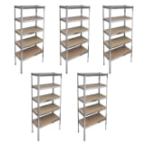 Storage Rack Garage Storage Shelf 5 pcs