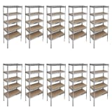 Storage Rack Garage Storage Shelf 10 pcs