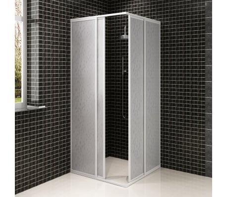 Shower Cabin Enclosure Pp Board Aluminium Frame