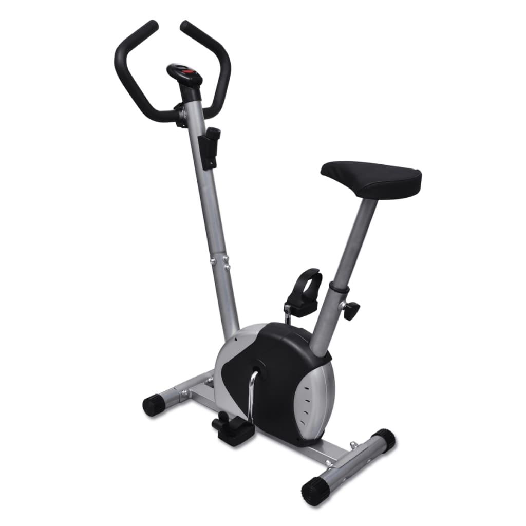 Bicicletă exerciții fitness poza vidaxl.ro