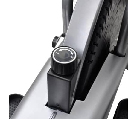 vidaXL Crosstrainer met 4 stangen en hartslagmeter[8/9]