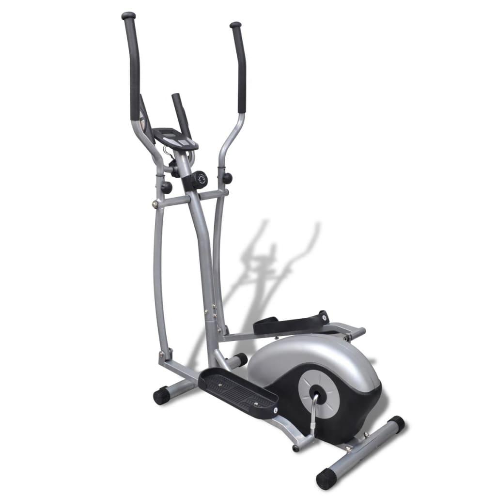 Aparat fitness eliptic 4 Kg cu volan magnetic vidaxl.ro