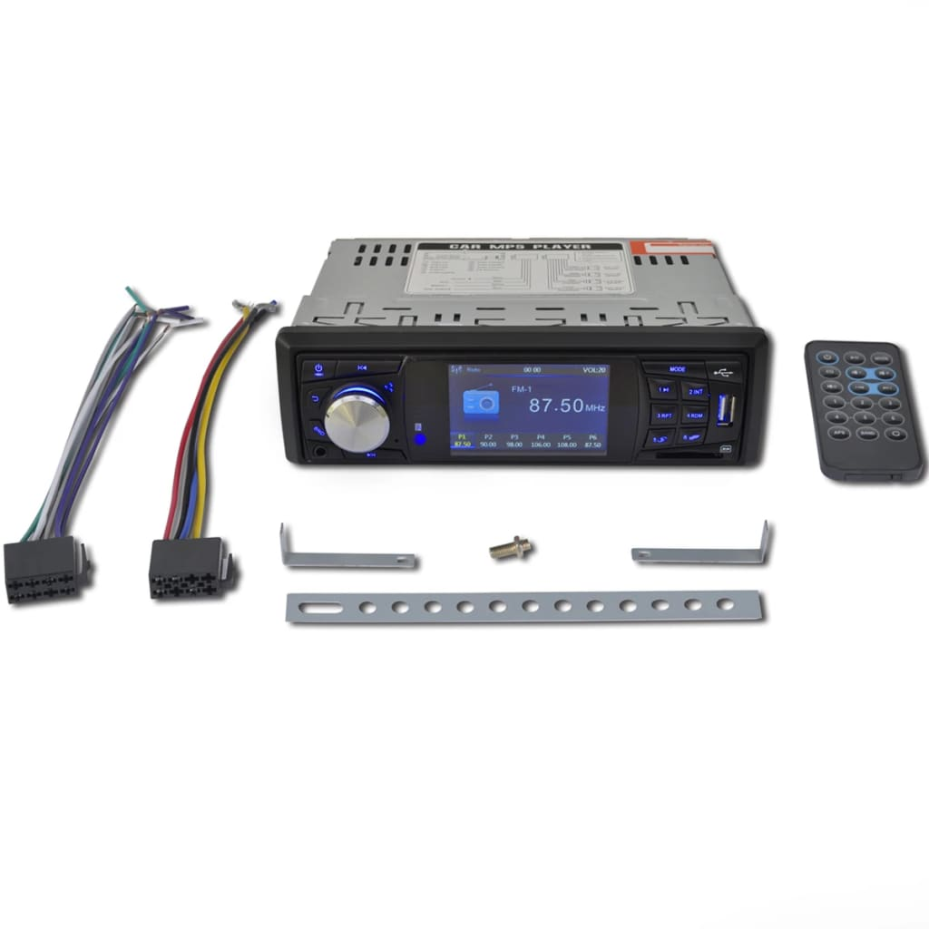 99210221 Multimedia Autoradio Monitor 1 DIN FM Radio
