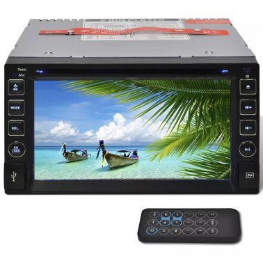 """Radio samochodowe DVD ekran dotykowy 6,2"""" BT, SD, USB, Radio FM[1/4]"""