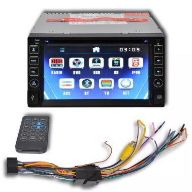 """Radio samochodowe DVD ekran dotykowy 6,2"""" BT, SD, USB, Radio FM[2/4]"""