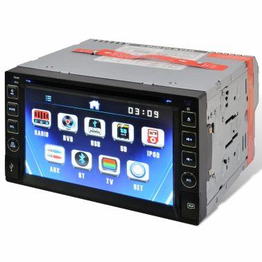 """Radio samochodowe DVD ekran dotykowy 6,2"""" BT, SD, USB, Radio FM[3/4]"""