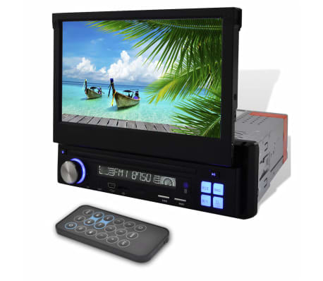 acheter autoradio cran lcd mp3 mp5 1 din lecteur sd bluetooth 7 pas cher. Black Bedroom Furniture Sets. Home Design Ideas