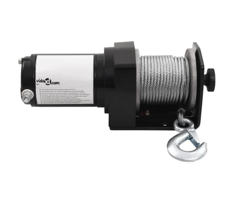 Electric Winch 3000 lb with Plate Roller Fairlead[4/7]