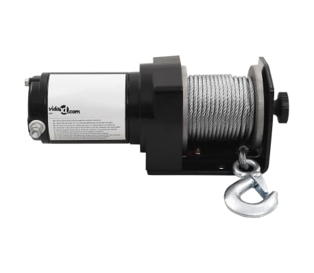 Electric Winch 1360 KG Plate Roller Fairlead Wireless Remote Control[4/8]