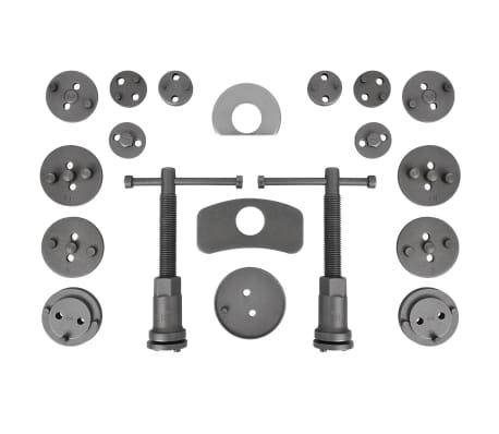 acheter coffret repousse piston d etrier de frein kit de 22 pi ces pas cher. Black Bedroom Furniture Sets. Home Design Ideas