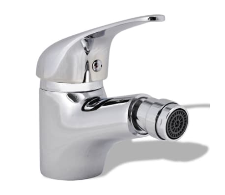 vidaXL Bathroom Bidet Mixer Tap Chrome