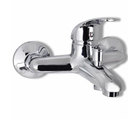 vidaXL Kit de robinet de douche Chrome[4/7]