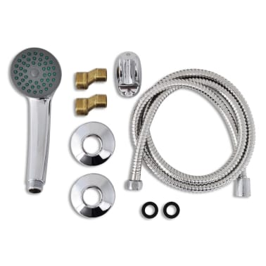 vidaXL Kit de robinet de douche Chrome[2/7]