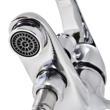 vidaXL Kit de robinet de douche Chrome[6/7]