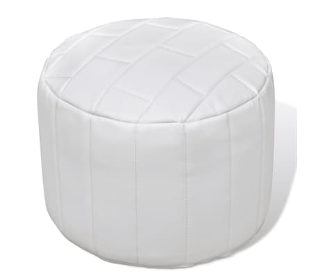 pouf repose pied contemporain avec un design simple. Black Bedroom Furniture Sets. Home Design Ideas