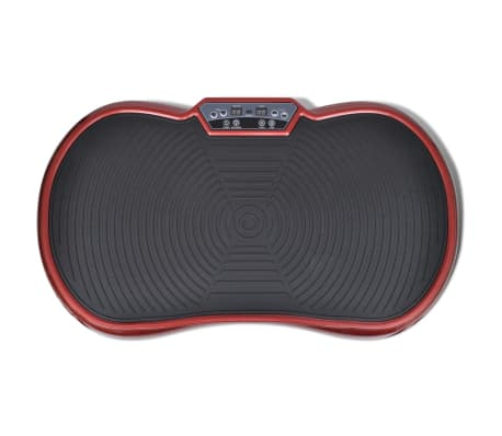 Fitness Vibration Plate Small 200 W with Belts Red[4/7]