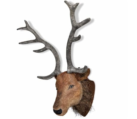 Deer Head Wall Mounted Decoration Natural Looking[2/6]