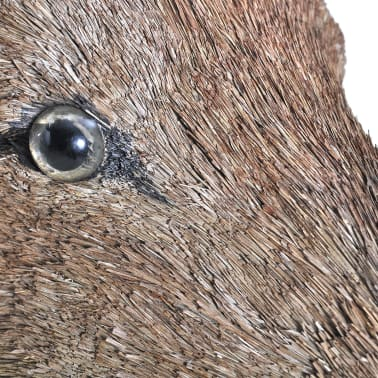 Deer Head Wall Mounted Decoration Natural Looking[5/6]