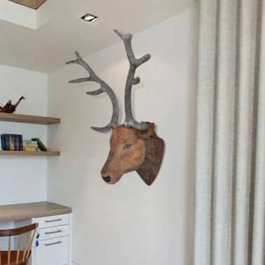 Deer Head Wall Mounted Decoration Natural Looking[1/6]