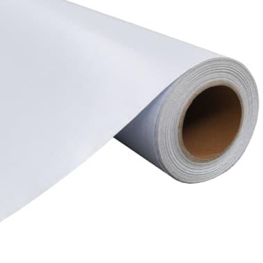 vidaXL Ljepljiva mutna prozorska folija za privatnost mliječno staklo 0,9 x 5 m[3/8]
