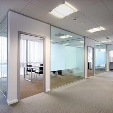 vidaXL Ljepljiva mutna prozorska folija za privatnost mliječno staklo 0,9 x 5 m[5/8]