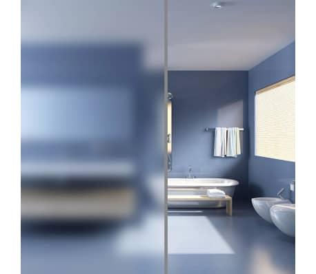 vidaXL Ljepljiva mutna prozorska folija za privatnost mliječno staklo 0,9 x 5 m[1/8]