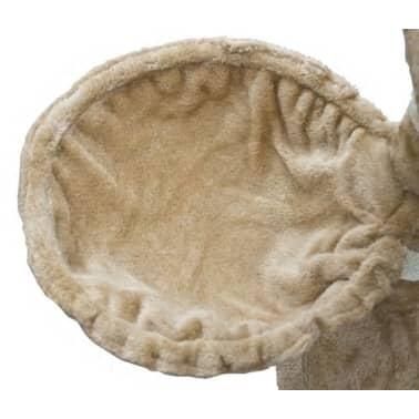 vidaXL kradsetræ til katte 122 cm plys beige[5/5]