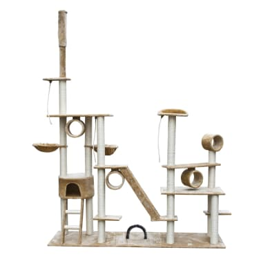 Cat Play Tree Deluxe 230-260 cm Beige Plush[1/6]