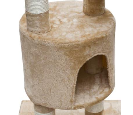 XL kasside kraapimispuu 230-260 cm beež plüüs[4/5]