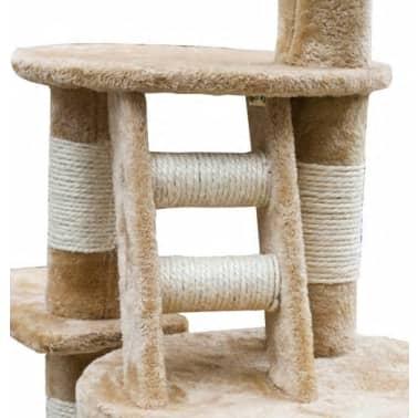 XL kasside kraapimispuu 230-260 cm beež plüüs[3/5]
