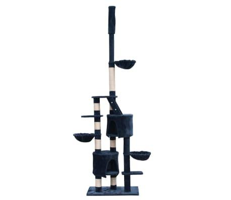 Kattenkrabpaal Luna XL 230/260 cm (donkerblauw)